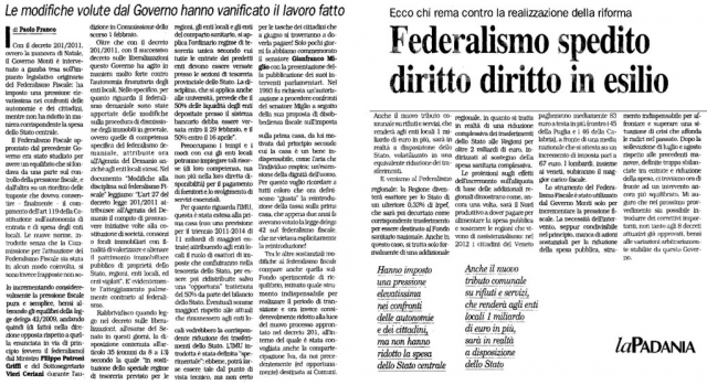 la padania 9 febbraio 2012 federalismo.jpg