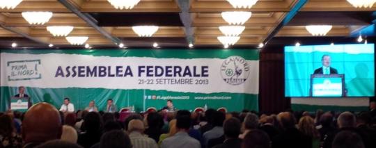 assemblea-federale,maroni,venezia