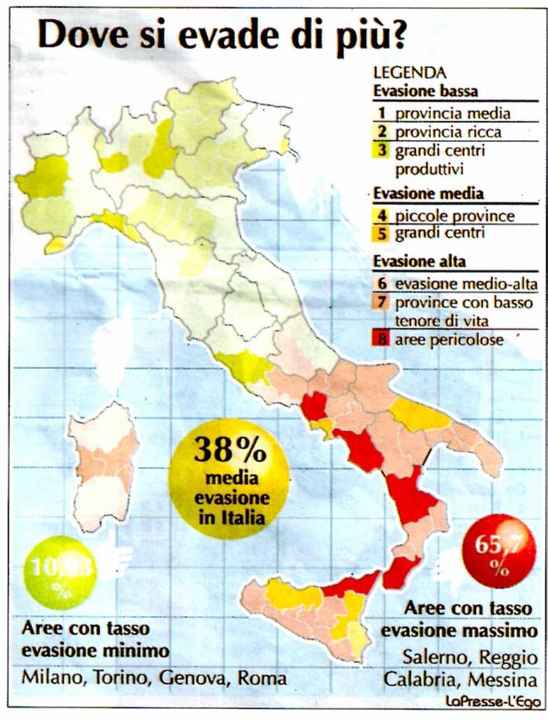 00 evasione in italia